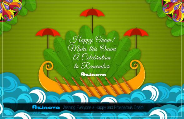 Fun and Excitement at Azinova – Onam Celebrations