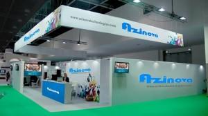 azinova technologies stand