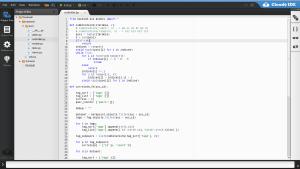 browser based IDE